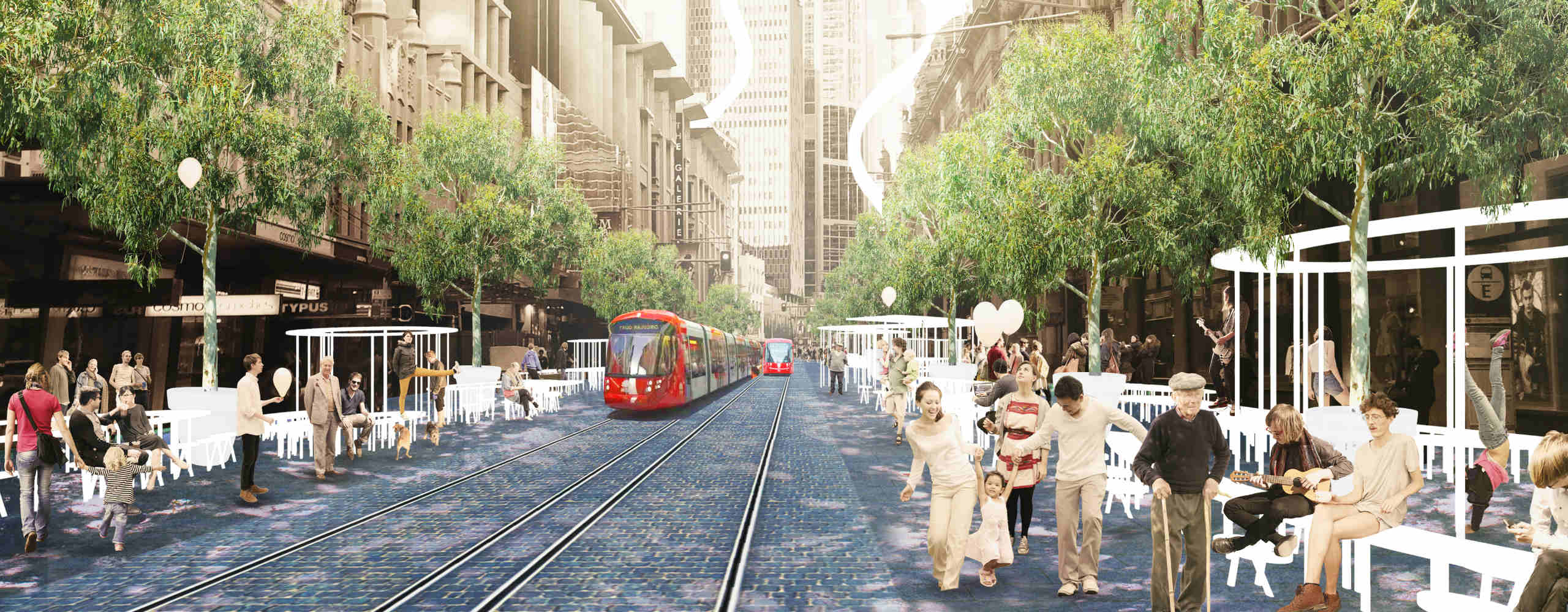 Here's What Sydney's CBD Could Look Like in 2020