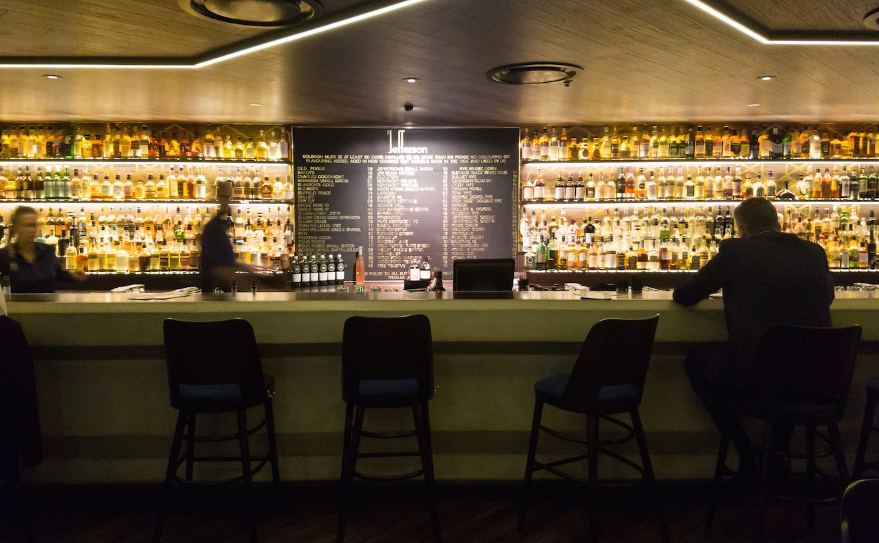 Capturing ten of the most intimate bars in auckland for Food bar drinking game