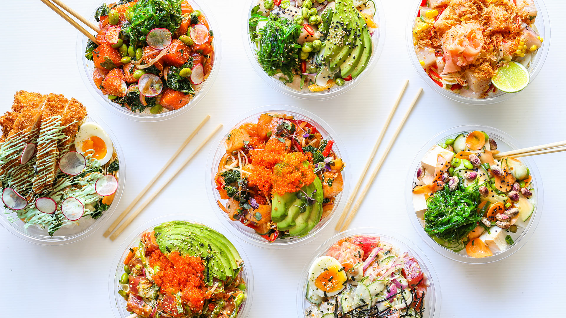 suki brings make your own poke bowls and sushi burritos to. Black Bedroom Furniture Sets. Home Design Ideas
